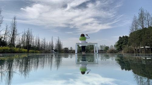 单向透视玻璃天空之镜