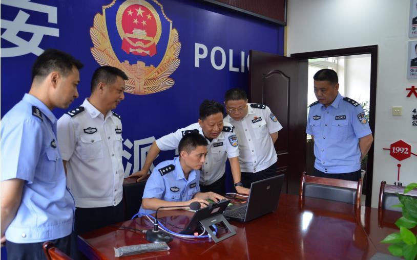 自贡市公安局大安分局团结派出所建设工