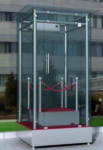 防弹玻璃,防弹玻璃岗亭