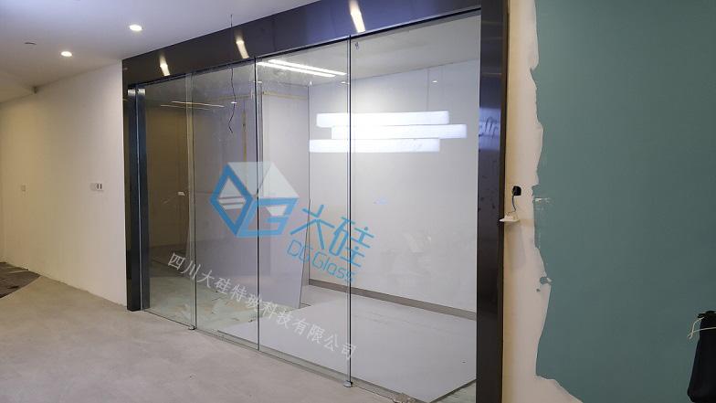 调光玻璃隔断,调光玻璃感应门