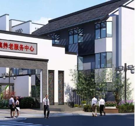 龙潭寺综合养老服务中心电动卷帘式挡烟垂壁
