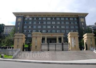 重慶市政府辦公廳北門哨位改造防彈玻璃