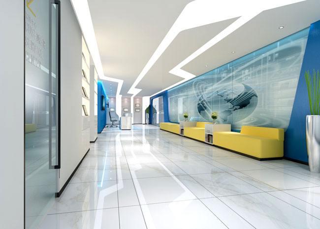 诺亚轩办公室雾化玻璃隔断装修项目