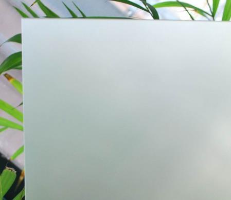 超白钢化玉砂玻璃
