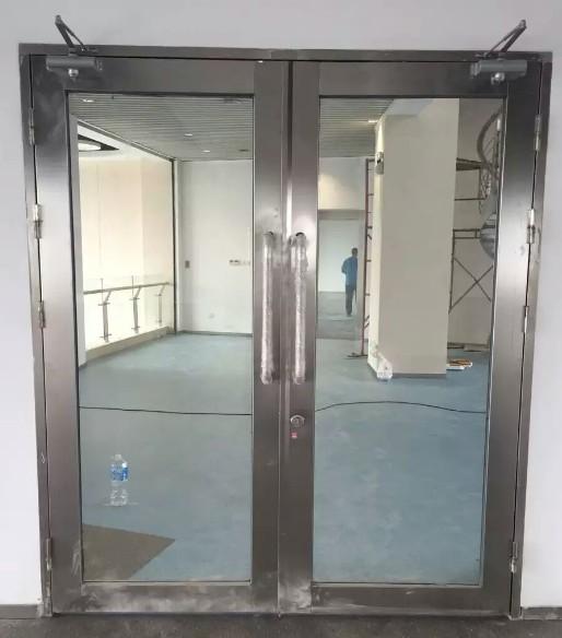 乙级防火玻璃门