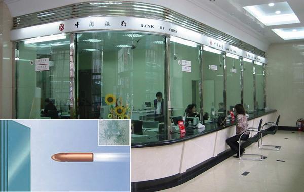 银行防弹防砸玻璃