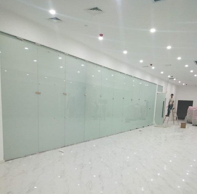 四川业成科技办公室调光玻璃幕墙