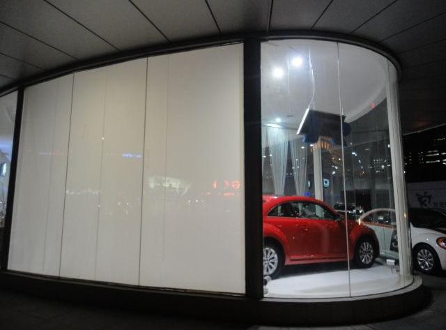 汽车展厅电控调光玻璃
